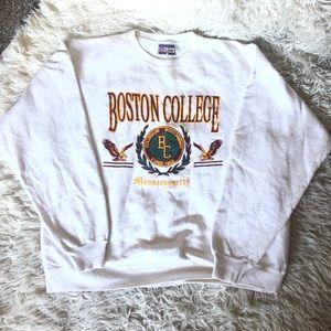 Vtg Boston College sweatshirt made by Hanes